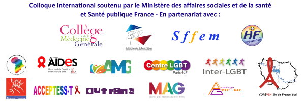 Colloque international Santé Sport Diversité Gay Games 2018 partenaires