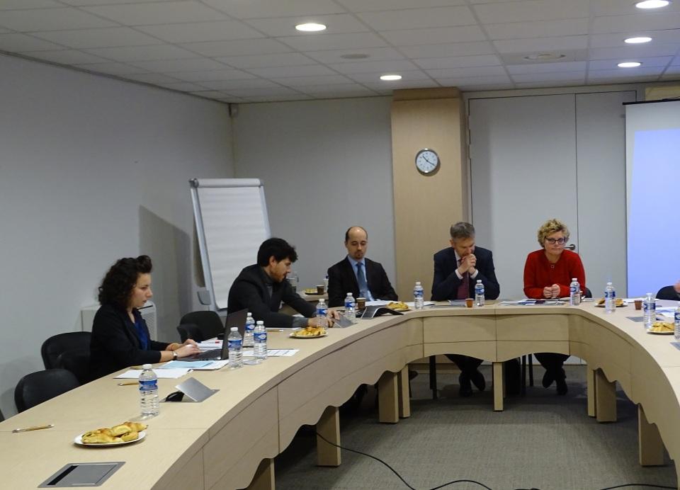 Comité de pilotage de novembre 2016 du fonds LGBT présidé par Expertise France